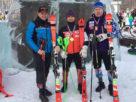 горнолыжники